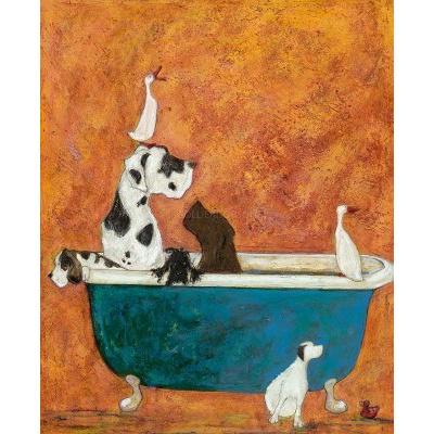 Big Dog Bath